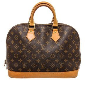 Louis Vuitton Monogram Canvas Alma MM Handbag